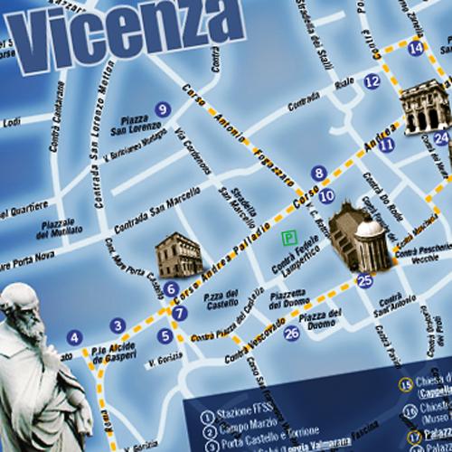 PALLADIO Guida Vicenza