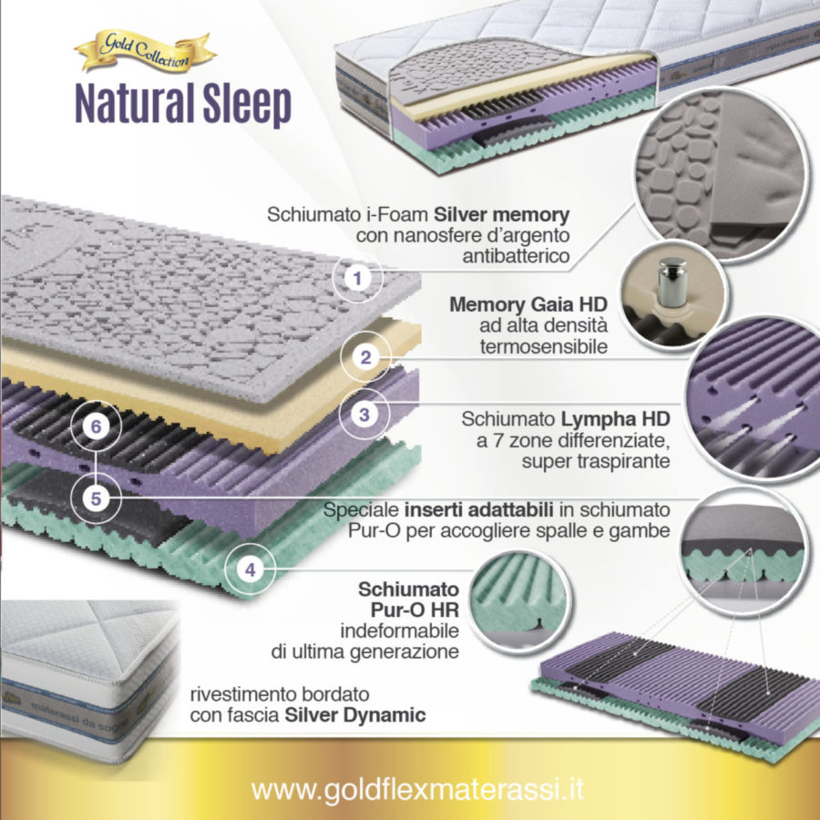 D GOLDFLEX natural sleep