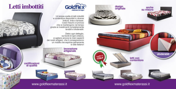 D Goldflex letti